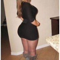 Plan cul avec une femme mure sexy au gros cul